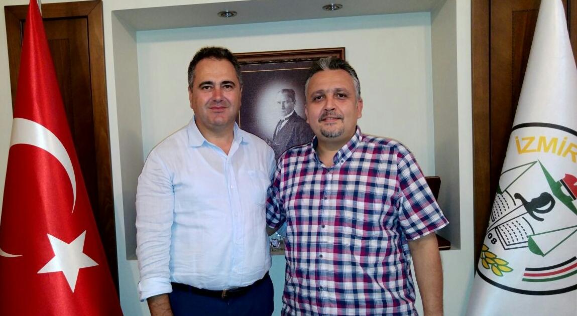 Genel Başkan Av. Necmettin Hüseyin'den İzmir Barosuna Ziyaret