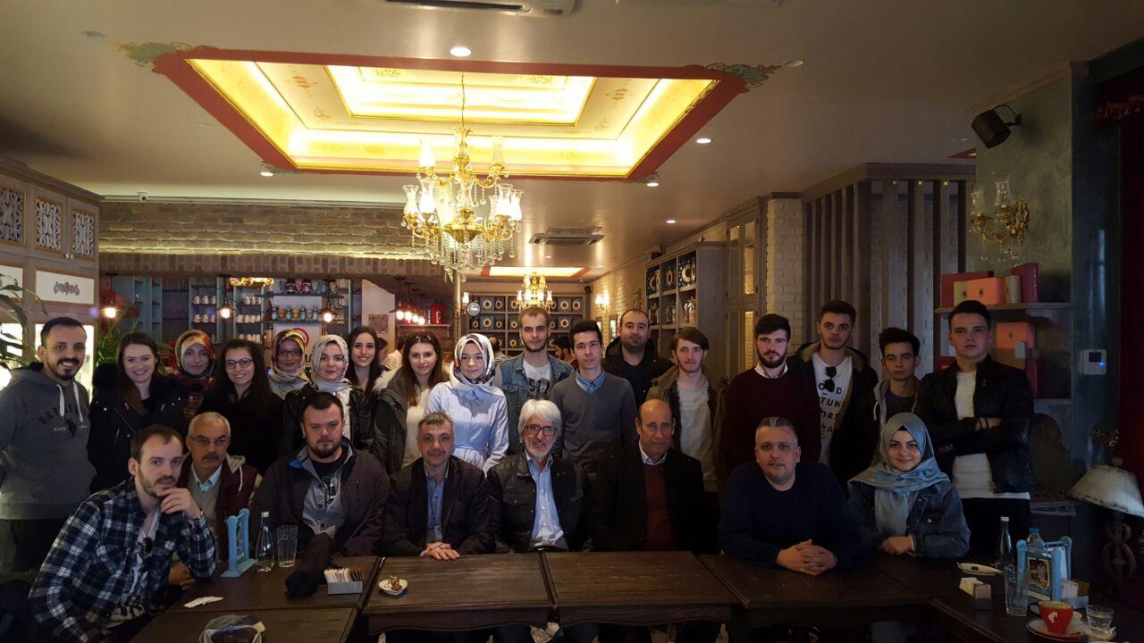Genel Başkan Eskişehir'de Gençlerle Buluştu