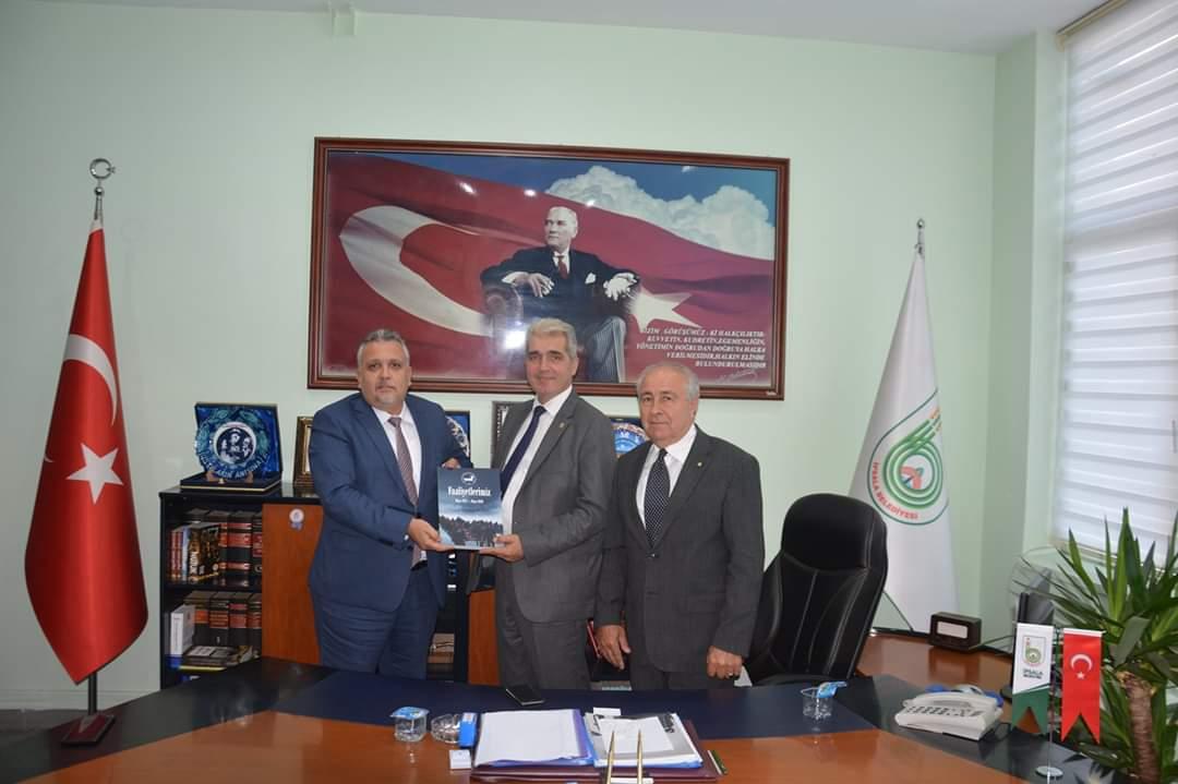 Genel Başkan İpsala Belediye Başkanını Ziyaret Etti