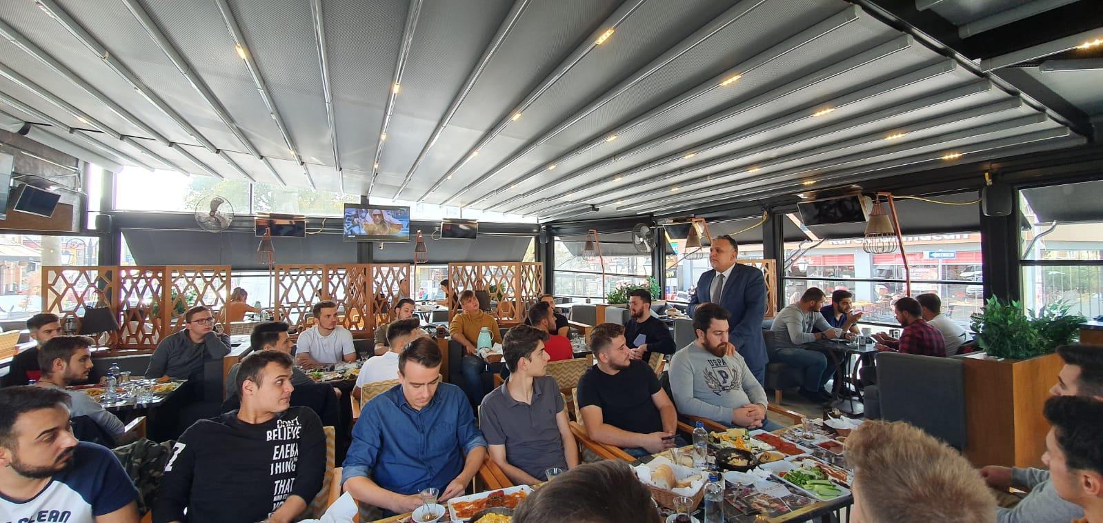 Genel Başkan Tekirdağ'da Gençlerle Buluştu