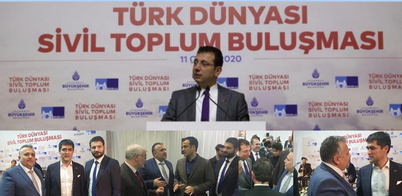 Genel Başkan Türk Dünyası Sivil Toplum Buluşmasına Katıldı