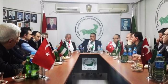 Genel Başkan'dan Bursa Şubeye Hayırlı Olsun Ziyareti