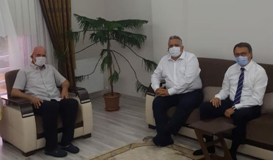 Genel Başkandan Mehmet Akın ve Beyza Akbay'a Ziyaret