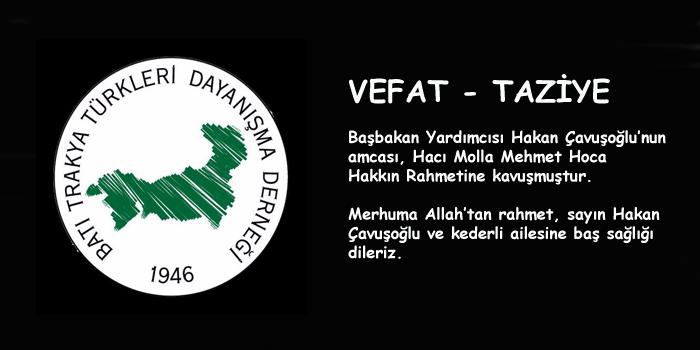 Hakan Çavuşoğlu'nun Başı Sağolsun