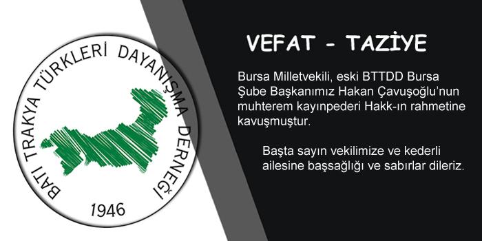 Hakan Çavuşoğlu'nun ve Ailesinin Başı Sağolsun