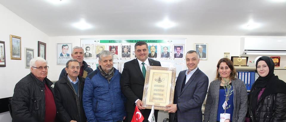 Hasan Ayaz'dan İzmit Şubemize Ziyaret