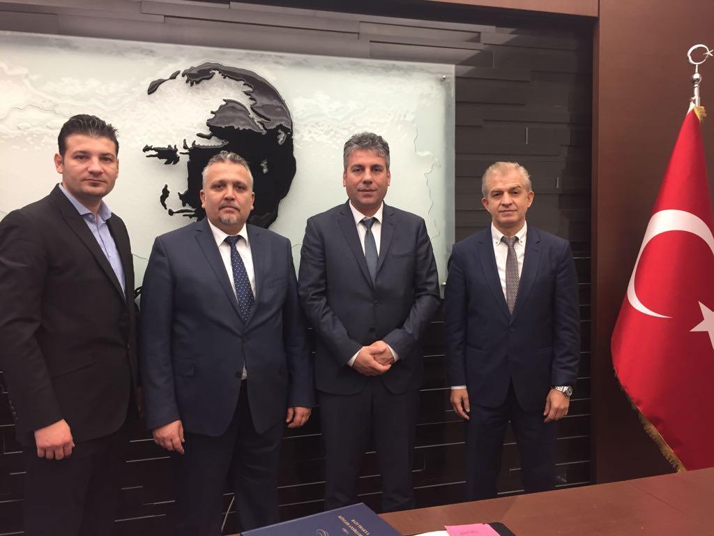 İstanbul Göç İdaresi Müdürü'ne Ziyaret
