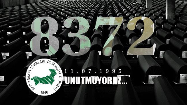 İnsanlığın Katledildiği Yer Srebrenica Unutmuyoruz ..