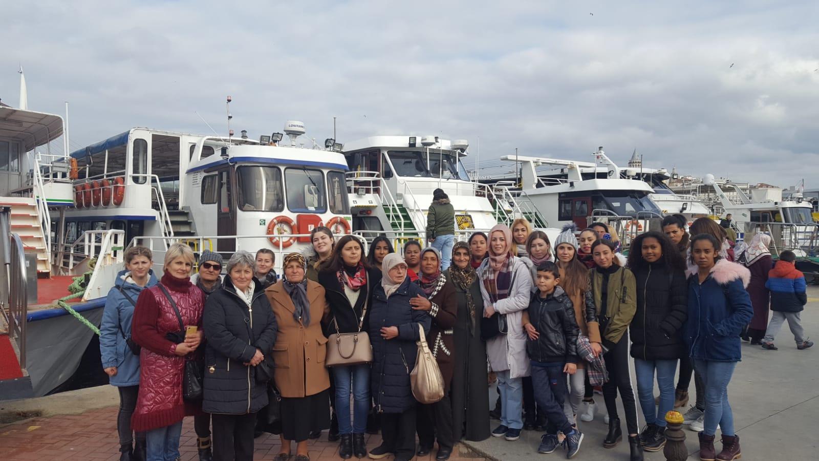 İTB Beyköy Dikiş-Nakış Kursu Öğrencilerini Ağırladık