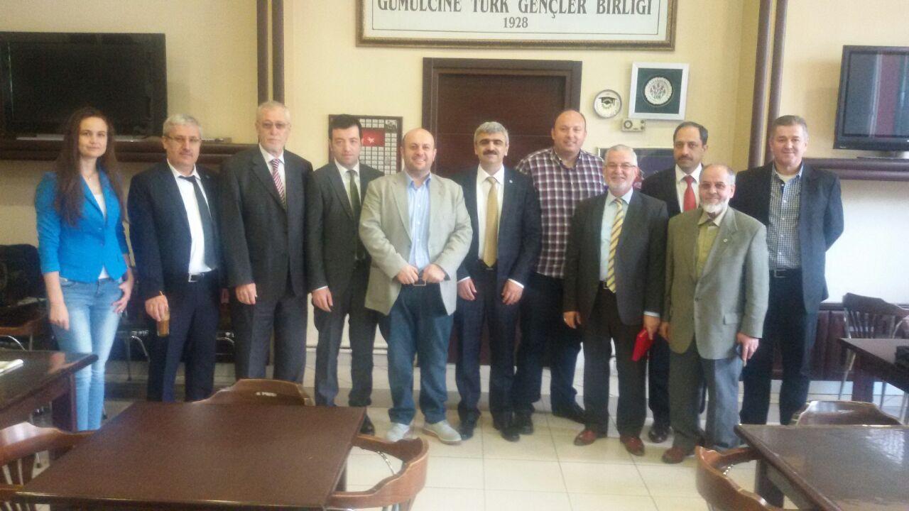 İTO Elektrik Komisyonu Üyeleri Batı Trakya'da