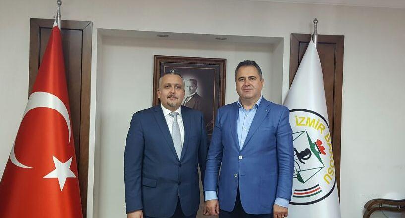 İzmir Baro Başkan'ına Hayırlı Olsun Ziyareti
