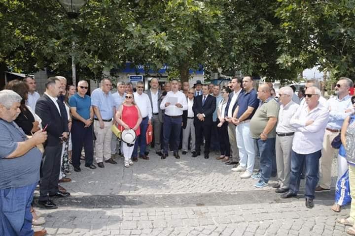 İzmir de Rumeli Balkan Sivil Toplum Örgütlerinden Kınama