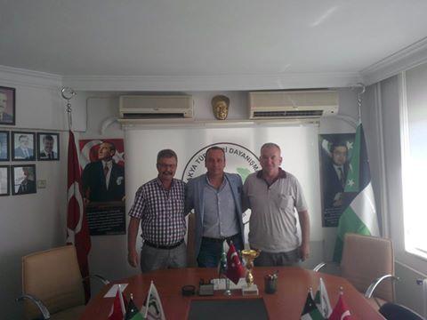 İzmir Şube Başkanından Bursa Şubesine Ziyaret