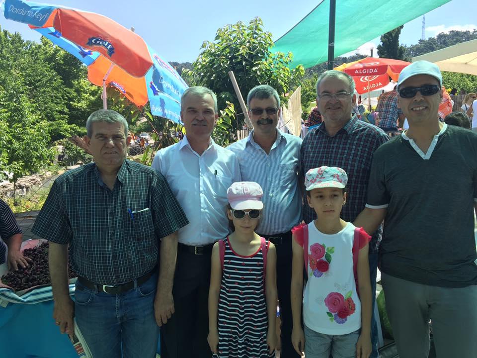 İzmir Şubemiz Bornova Kiraz Festivaline Katıldı