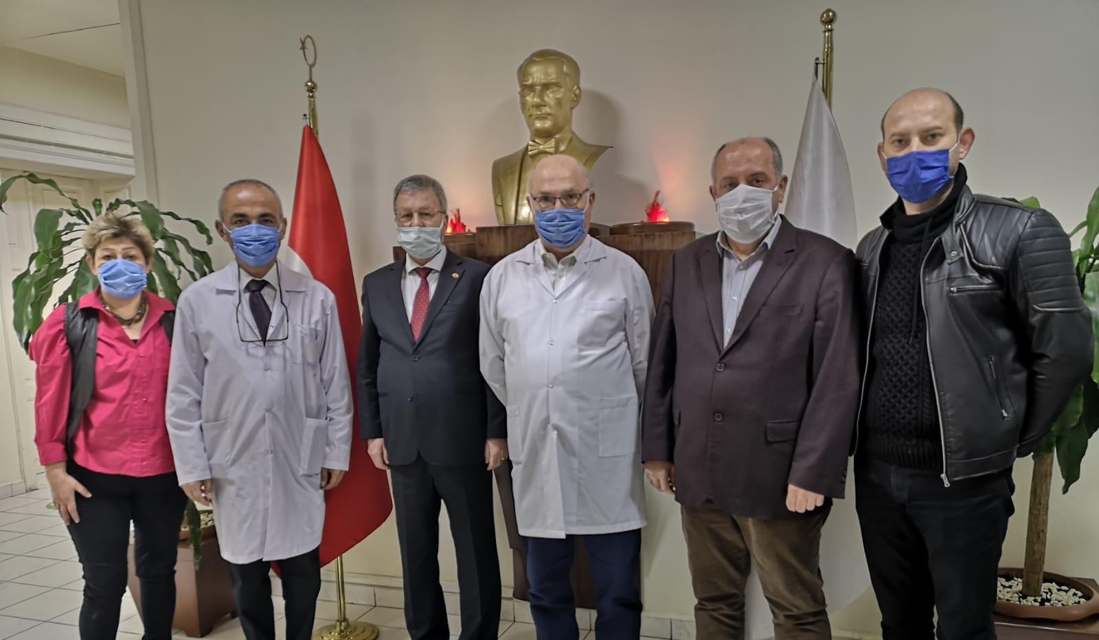İzmir Şubemiz Kahraman Doktorlarımızla Bir Arada Oldu