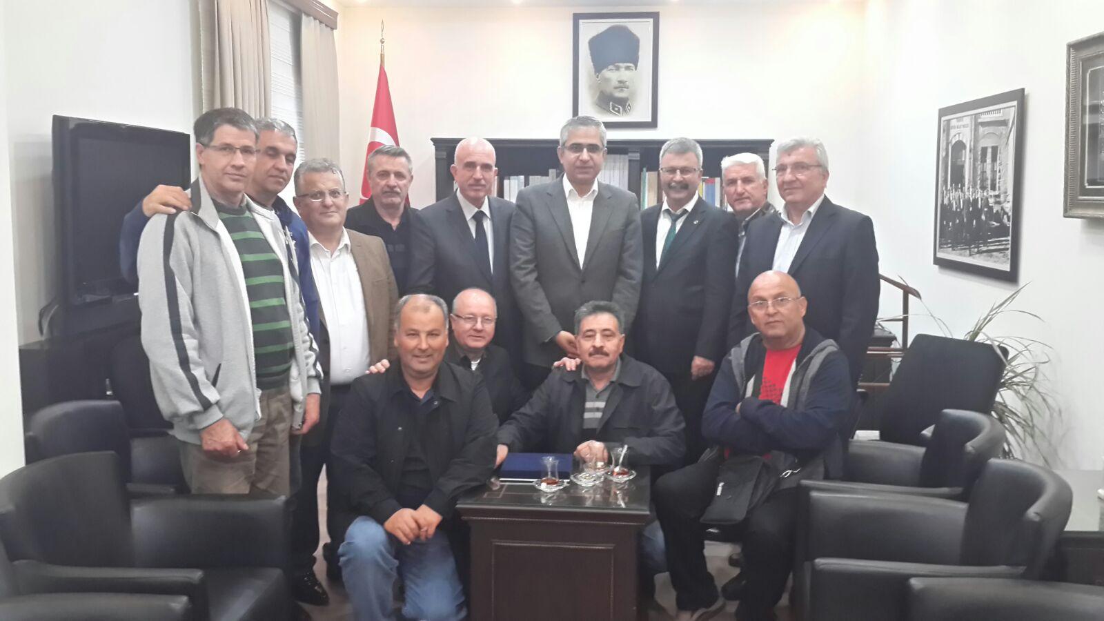 İzmir ve Soma Şubelerimizin Batı Trakya Temasları