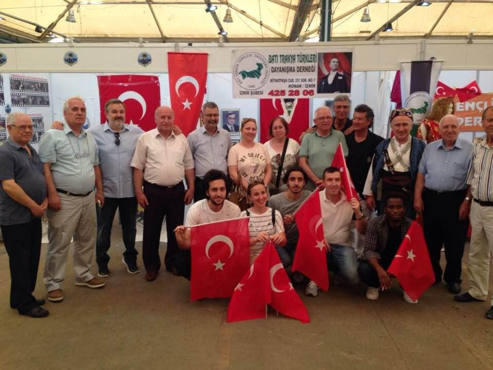 İzmir Şubemiz  Balkan Festivalinde