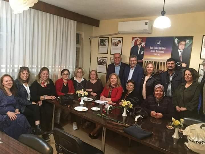 İzmir'de Dünya Kadınlar Günü Söyleşisi