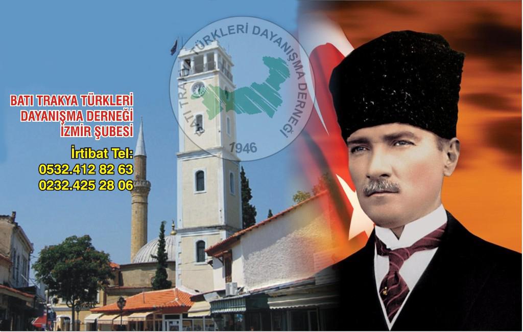 İzmir'de, Yunanistan'da Yaşayan Türklerin Güncel Sorunları Konulu Panel