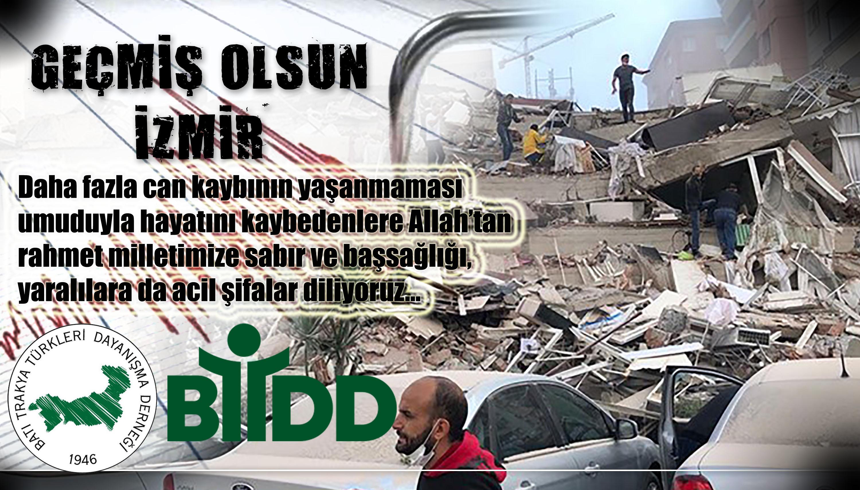 İzmir'de Yüreğimiz Yandı