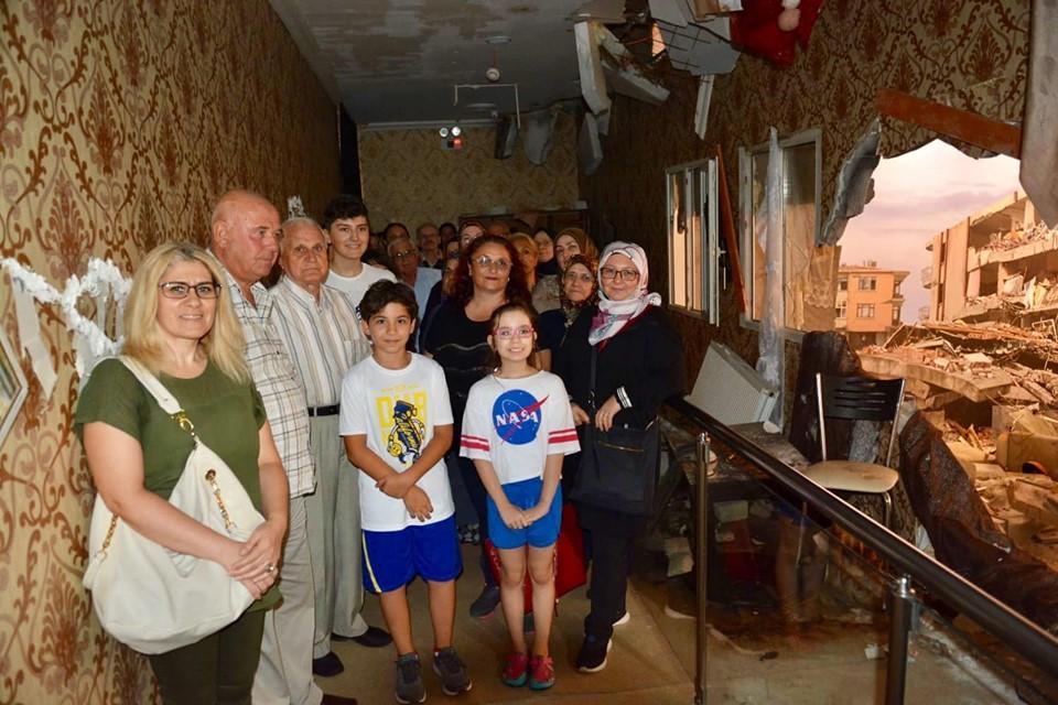 İzmit 17 Ağustos Depremini Anma ve Farkındalık Müzesi Ziyaret Edildi