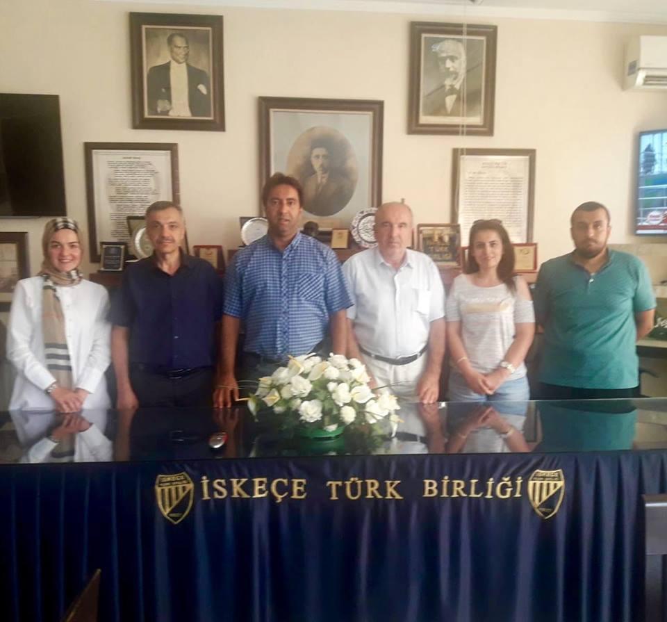 İskeçe Türk Birliği ve Kırköy Kültür Eğitim Derneğine Ziyaret