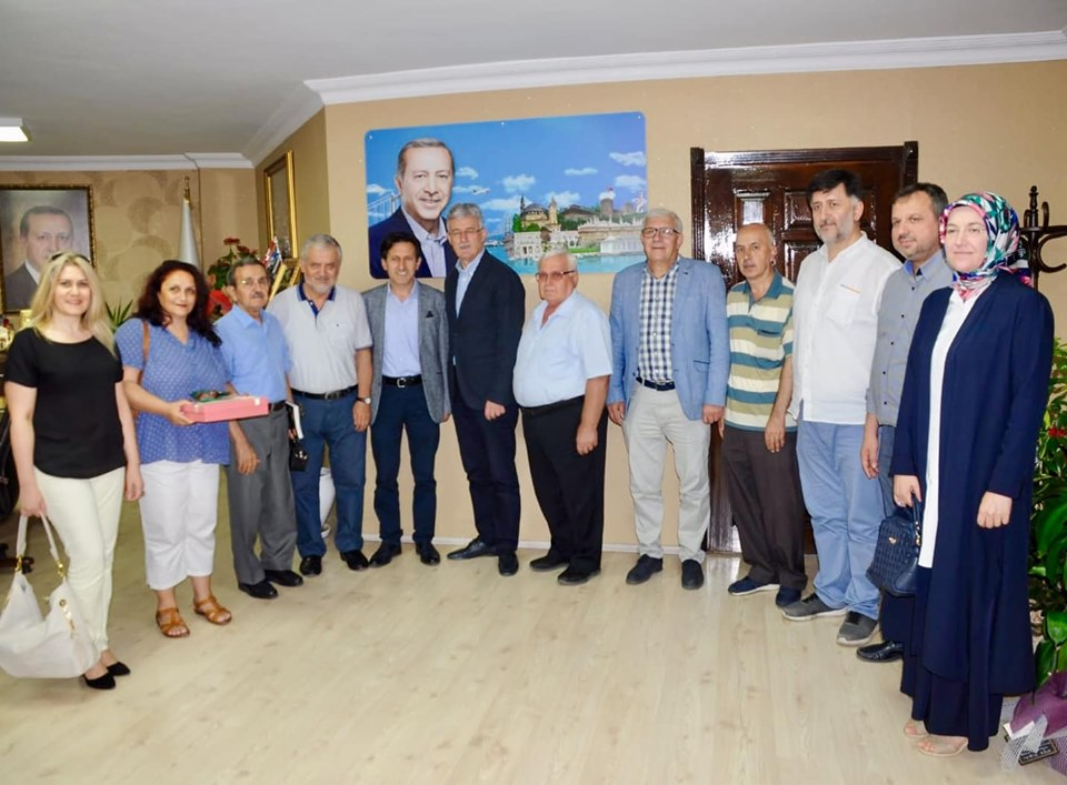 İzmit Şubemizden Kocaeli Ak Parti İl Başkanlığına Ziyaret