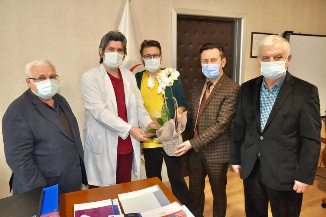 İzmit Şubemizden Kocaeli Devlet Hastanesine Ziyaret