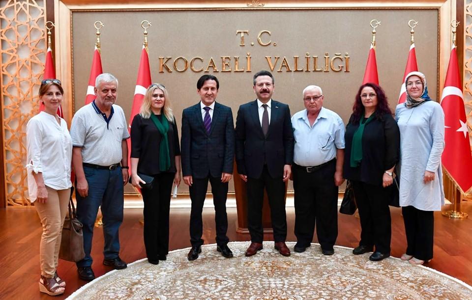 İzmit Şubemizden Kocaeli Valisi Hüseyin Aksoy'a Ziyaret