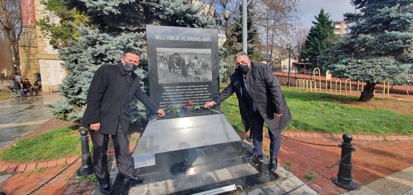 İzmit'te 29 Ocak Milli Direniş Günü Unutulmadı