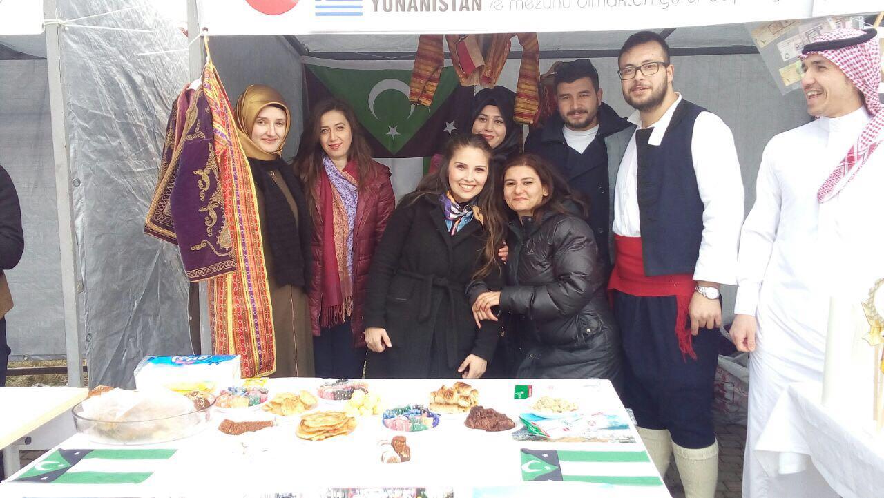 Kastamonu Üniversitesi Bahar Şenliğinde Batı Trakya Standı