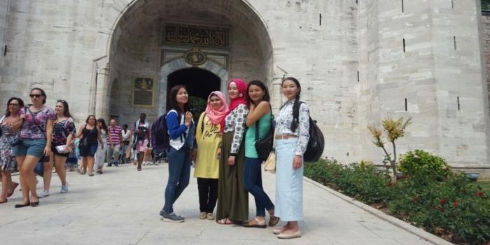 Kırgızistan'lı misafirlerimizi ağırladık