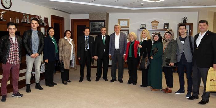 Kocaeli BŞB Başkanı Karaosmanoğlu Ziyaret Edildi