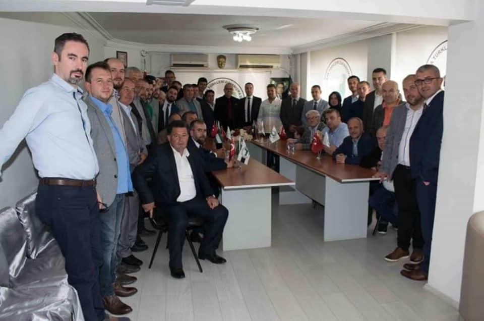 Kozlukebir Belediye Başkan Adayından Bursa Şubesine Ziyaret