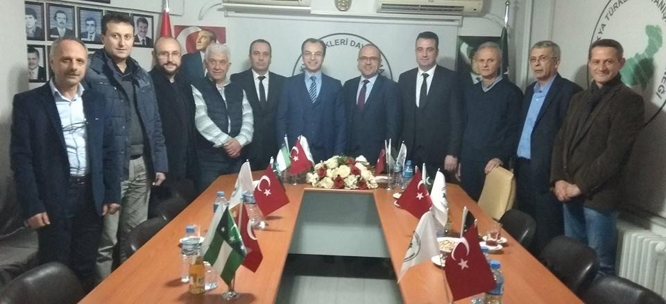 Levent Sadık Ahmet Bursa Şubemizi Ziyaret Etti