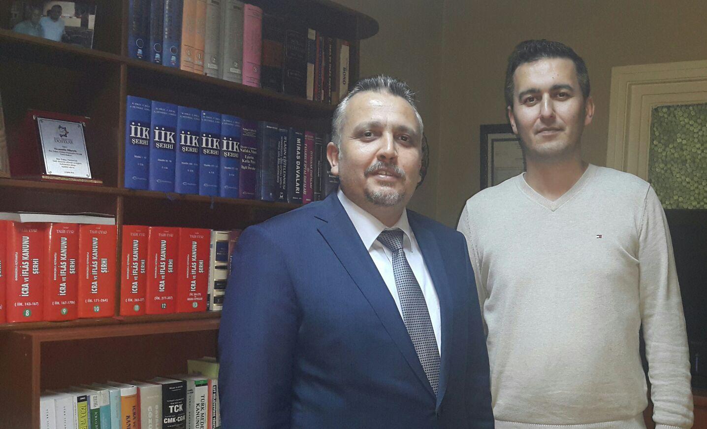 Lippstadt BTTEKD Başkanı Alpay Ahmet'ten, Genel Başkana ziyaret