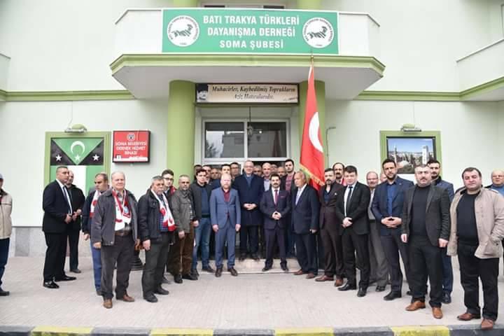 Manisa Büyükşehir Belediye Başkanından Soma Şubemize Ziyaret