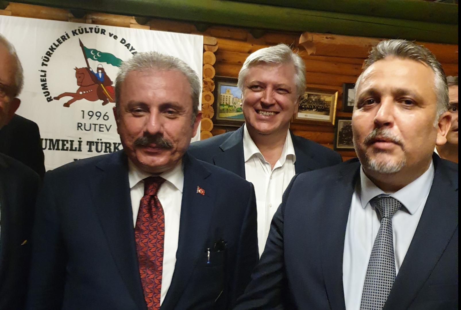 Meclis Başkanımız Şentop'la Bir Araya Geldik