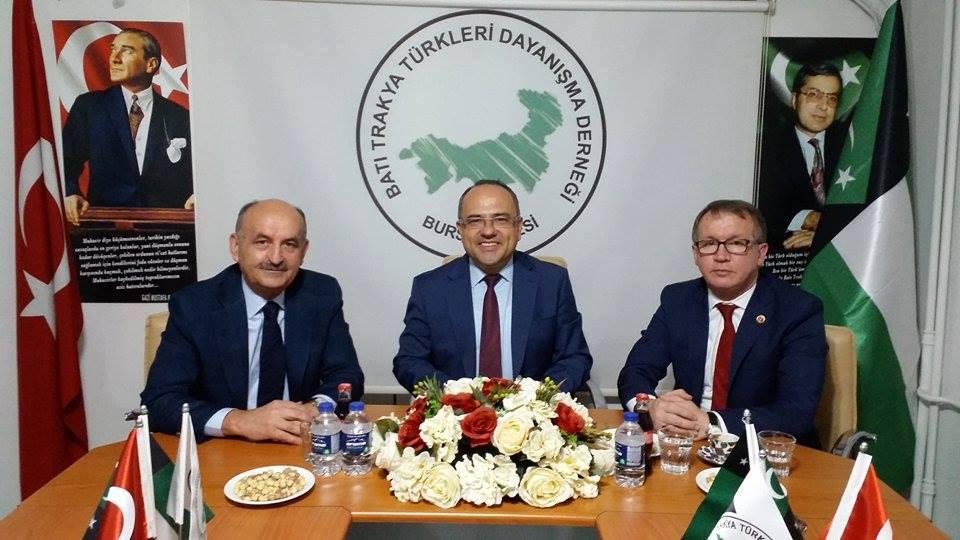 Mehmet Müezzinoğlu Bursa Şubemizi Ziyaret Etti