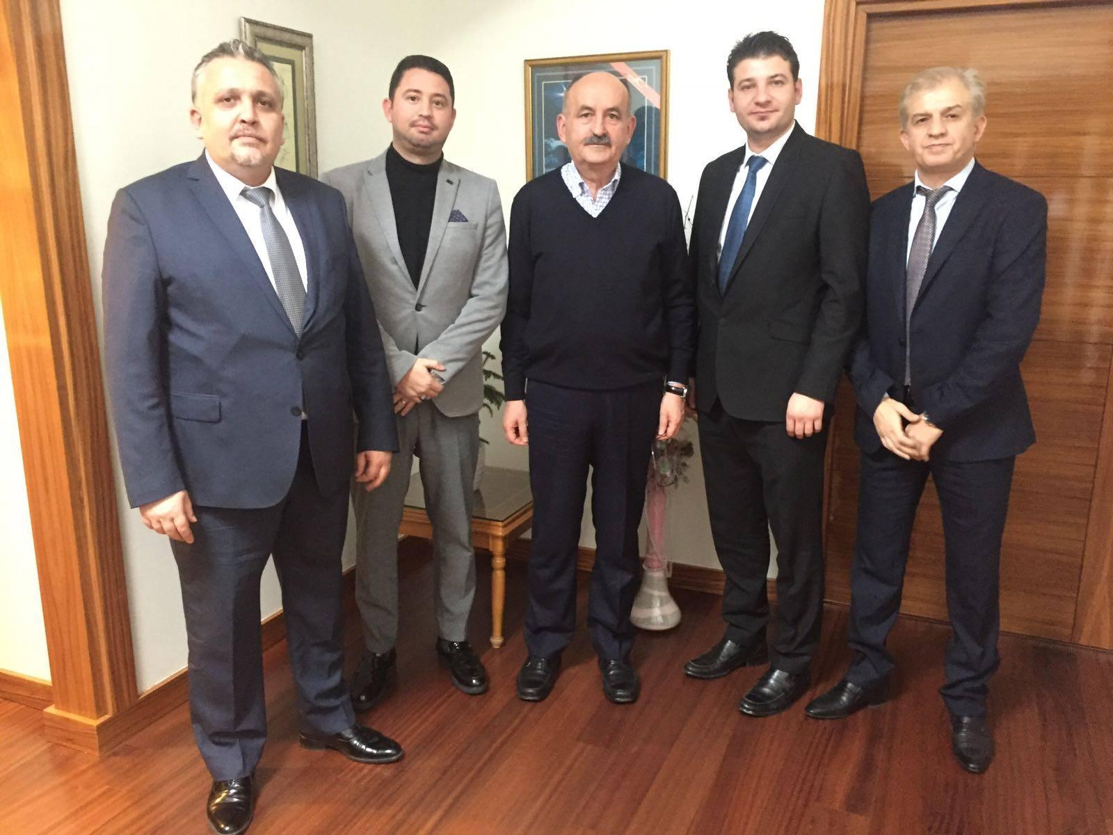 Dr.Mehmet Müezzinoğlu'nu Makamında Ziyaret Ettik