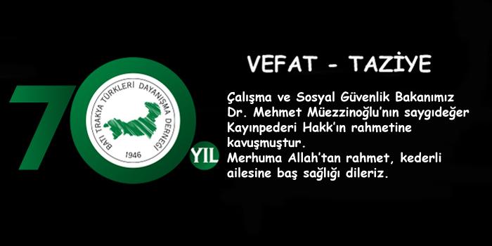Mehmet Müezzinoğlu'nun Kederli Günü