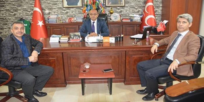 MHP İzmit İl Başkanlığına Ziyaret