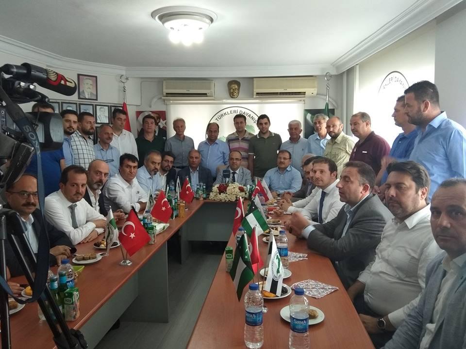 Milletvekillerinden Bursa Şubemize Ziyaret