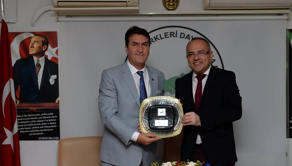Mustafa Dündar Bursa Şubemizi Ziyaret Etti