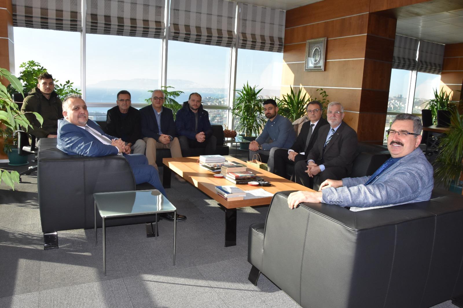 Namık Kemal Üniversitesi Rektörüne Ziyaret