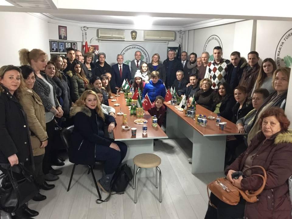 Rodos ve İstanköy'deki Soydaşlarımızdan Bursa Şubesine Ziyaret
