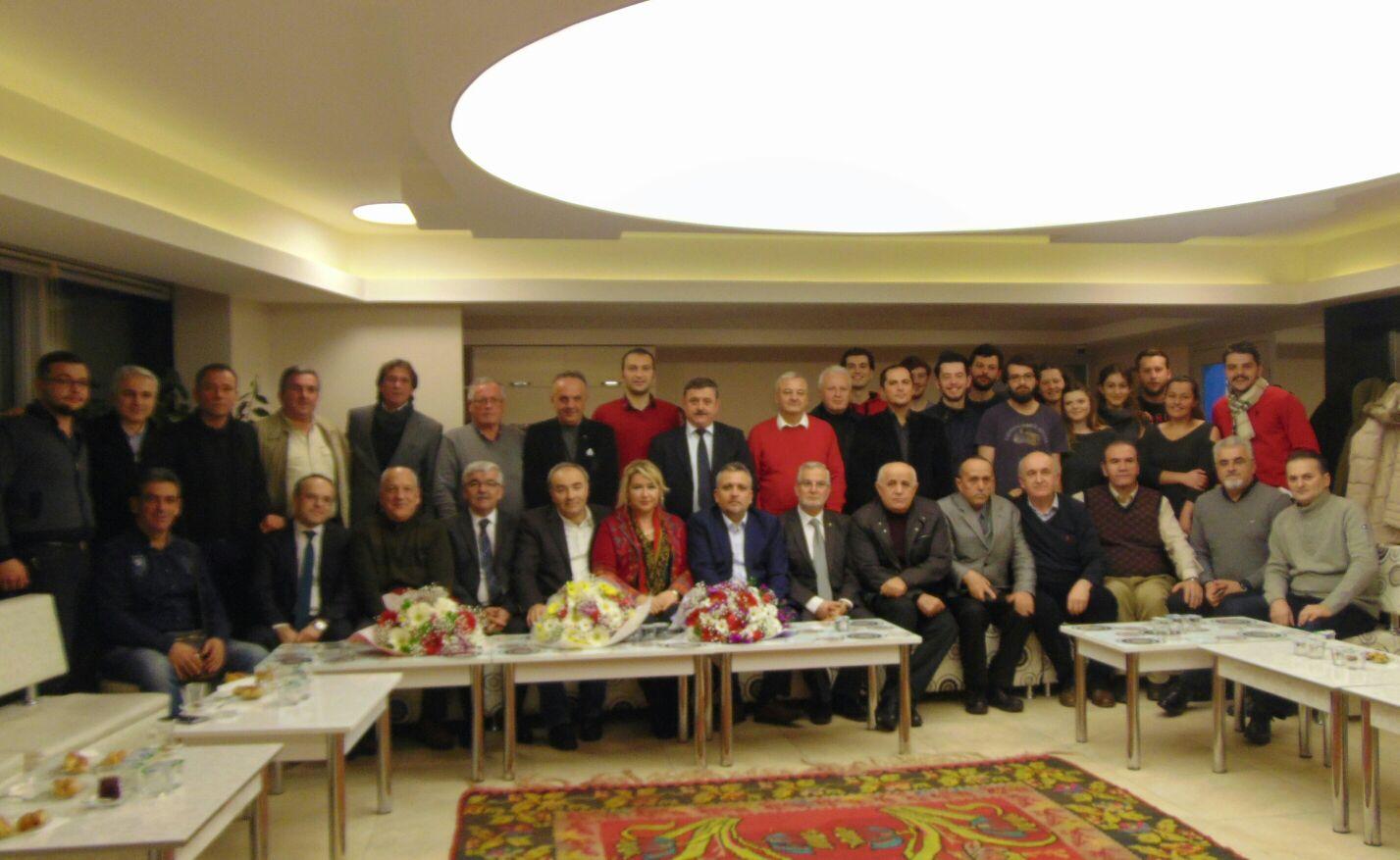 Rumeli Türk Dernekleri Federasyonu Bosna Sancak Derneğini ziyaret ett.