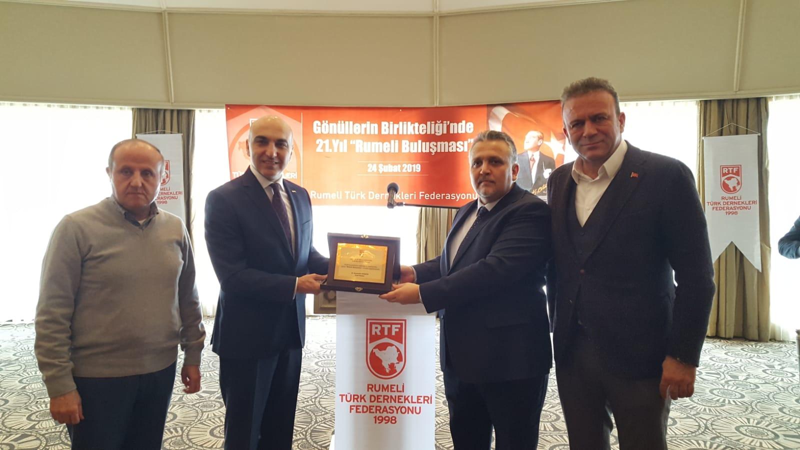 Rumeli Türk Dernekleri Federasyonu Kahvaltılı Buluşması Gerçekleşti