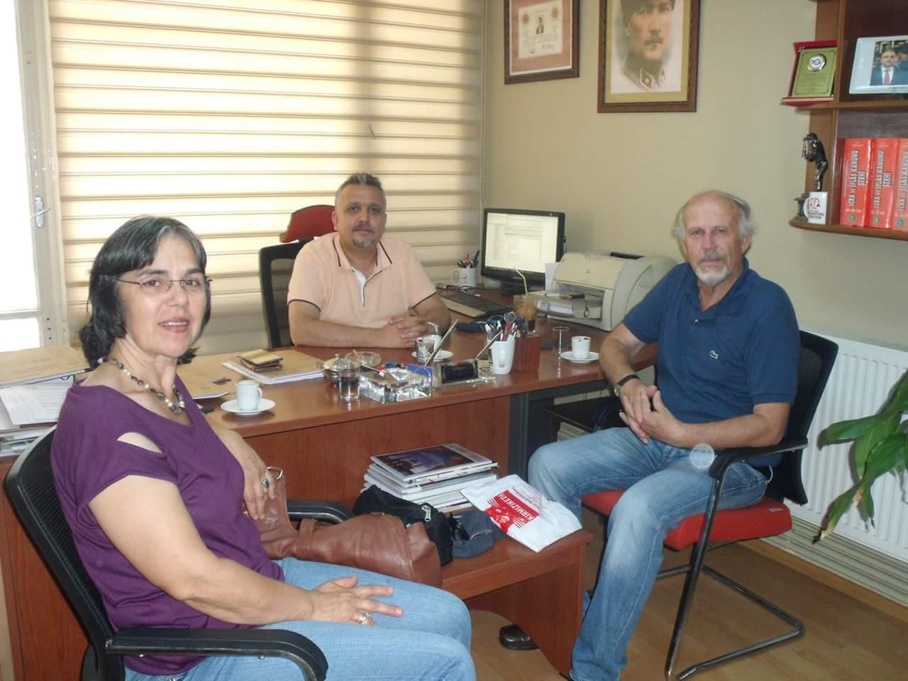 Sami Ali Toraman'dan BTTDD Camiasına ziyaret