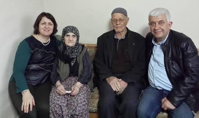 Şehidimiz Mustafa Canbaz'ın Annesine Yılın Kadını Ödülü